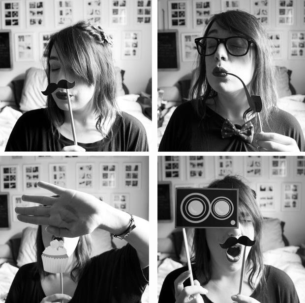 photomaton noir et blanc