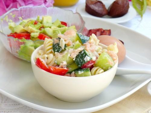 mes petits instants salade de saumon